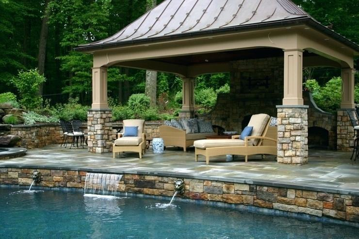 outdoor kitchen and pool pool design outdoor kitchen outdoor kitchen pool  house plans