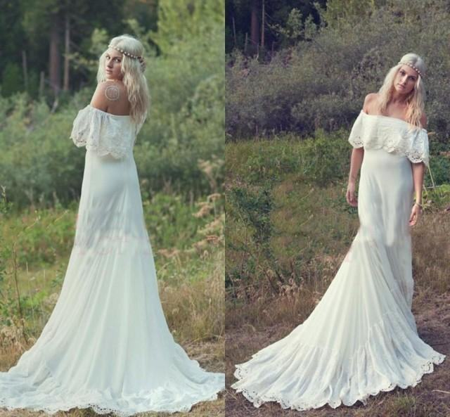 Princess Mermaid 2016 Lace Wedding Dresses Sheer Neck Ribbons Wedding Gowns  Train Sleeveless Milla Nova Cheap Beach Bridal Dress Online With  $100
