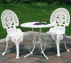 wrought iron furniture manufacturers design cast iron garden table and  chairs vintage