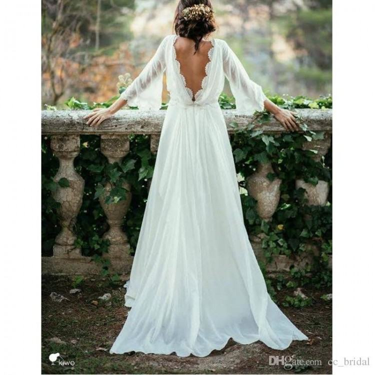 Discount 2017 Summer Short Beach Wedding Dresses Cap Sleeve Scoop Above  Knee Bridal Gowns Open Back A Line Lace Cheap Lace Wedding Reception Dress  A Line