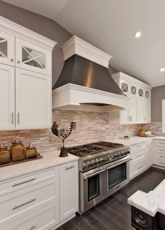 Full Size of Concrete Over Tile Backsplash Painted Cement Tiles Wet Bar Transitional  Kitchen Design Ideas