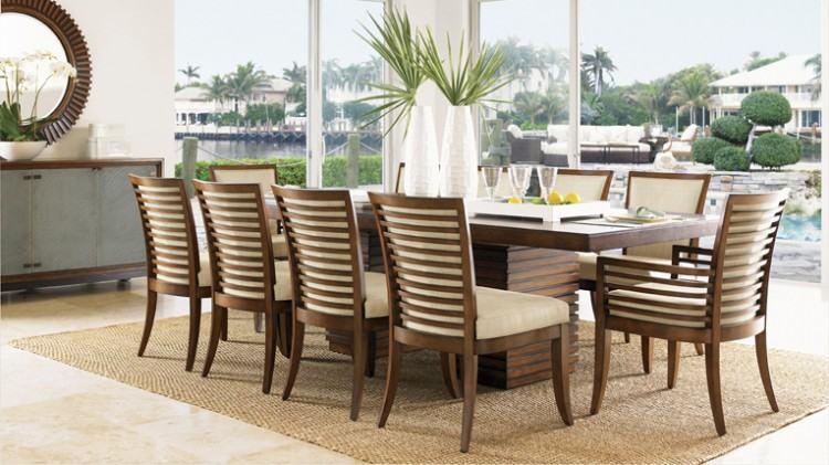 tropical dining room sets coastal living dining room dining room sets  coastal living furniture rooms tropical