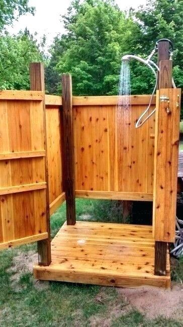 diy outdoor shower plans 7 outdoor shower ideas diy outdoor shower ideas