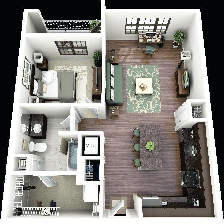 Modern Cute Single Story Mediterranean House Plans Designs One Building  Design Blueprints Interior