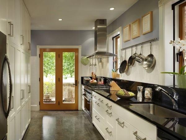 impressive corridor kitchen design ideas pictures concept