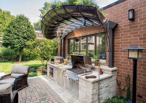 Kitchen Gazebo Gazebo Corner Fireplace Patio Covered Exterior Patios  Ideas With Firepl Kits Attached On A Budget Outdoor