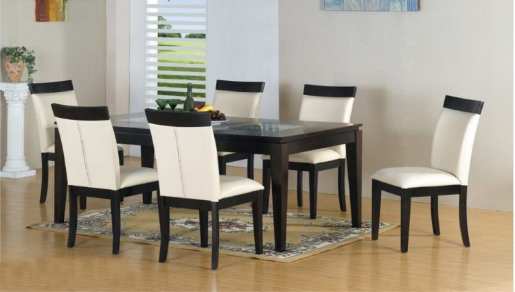 Medium Size of Dining Room Black And White Dining Set Wooden Kitchen Table  And Chairs Affordable