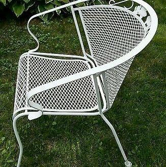 Outdoor Patio And Backyard Thumbnail size Wrought Iron Furniture Patio  Meadowcraft Outdoor Dogwood Vintage Bankruptcy Glenbrook