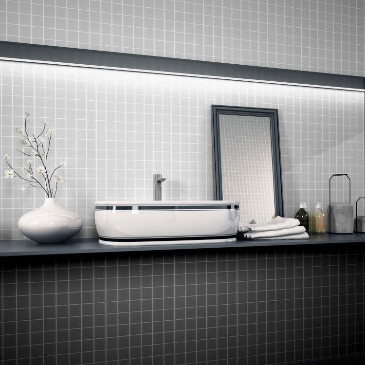 4×12 Subway Tile Designs : Exciting Shower With 4x12 Subway Tile And Glass  Mosaic