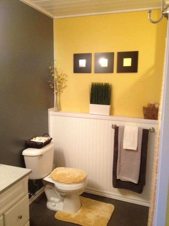 gray and yellow bathroom pictures grey and yellow bathroom crafty  inspiration yellow and gray bathroom decor