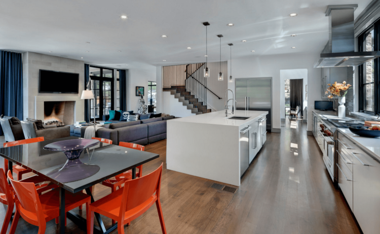 But more importantly, what sort of design suits you and your family? We  spend 12% of our lives in the Ideas For Living Room And Kitchen, beaten  only by the