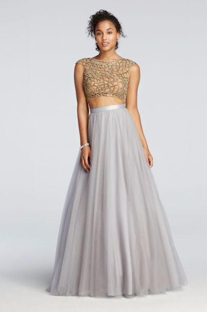 2 Piece Wedding Dresses