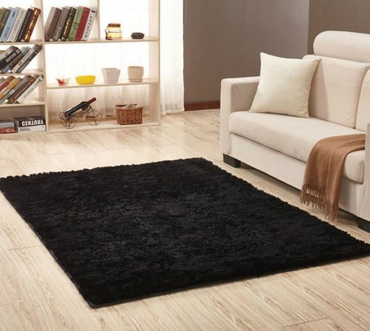 Non Slip Carpet Fluffy Rugs Anti Skid Shaggy Area Rug Dining Room Home Bedroom  Carpet Living Room Carpets Floor Yoga Mat Replace Carpet Kashan Rugs From