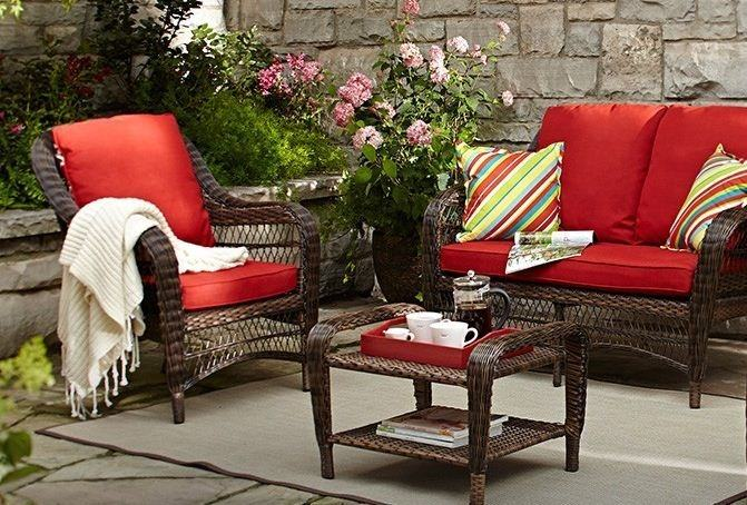 CANVAS Catalina Collection Wicker Patio Loveseat | CANVAS