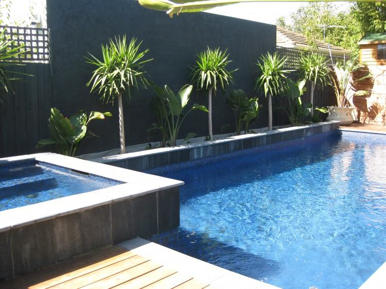 landscaping ideas around pool pool landscape plants dress up in ground and above  ground pools landscaping