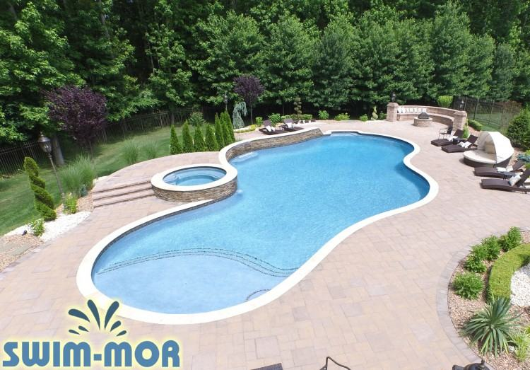 free form  pool design