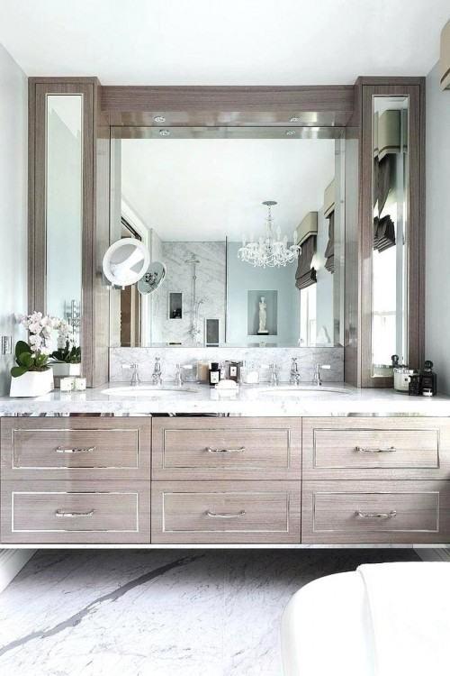 rustic bathroom sink ideas mirrors
