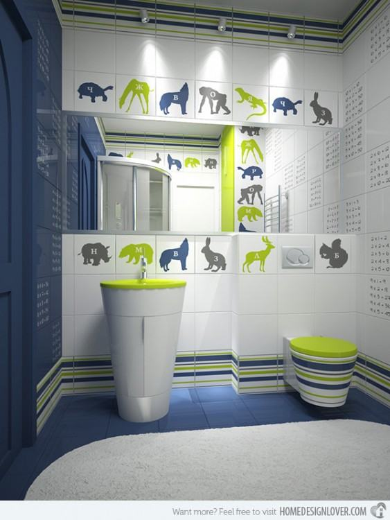 Bathroom Decoration Thumbnail size Funky Bathroom Ideas Best Basement  black mirrors bohemian white quirky wallpaper art