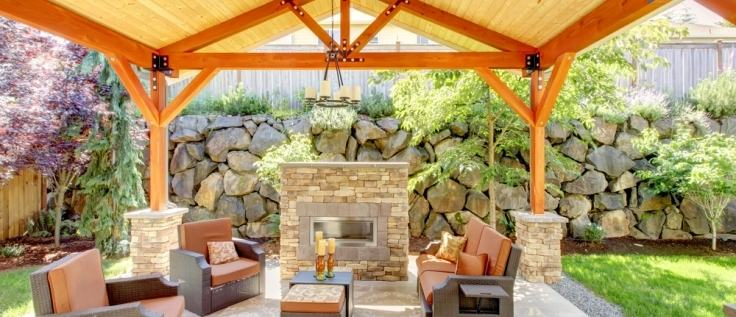 Outdoor Living Spaces Design Remodeling San Diego Covered Small