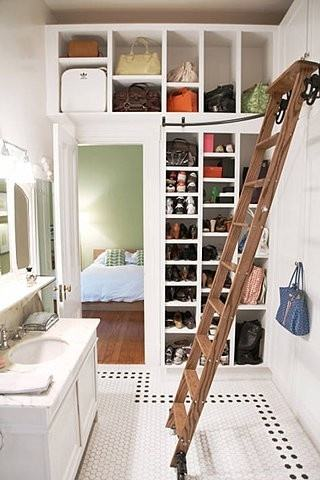 Bathroom Closet Design For Good Master Bathrooms With Closets Home  Design Ideas Luxury | Large