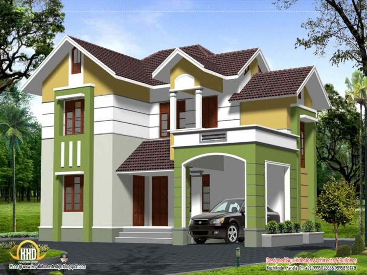 Glamorous Two Storied House Design Story Designs Contemporary 33 BEAUTIFUL  2 STOREY HOUSE