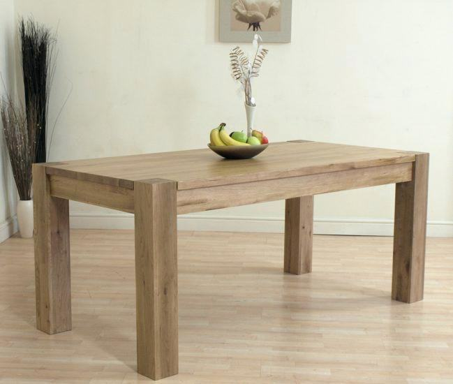 New dining table for
