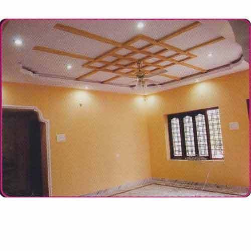 Pictures of Plaster of Paris false ceiling and interior services