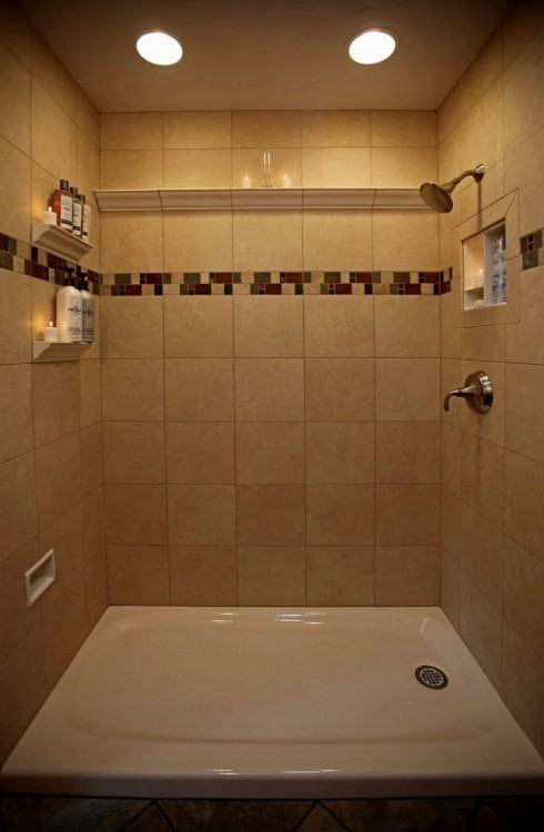 Contemporary Tile  Showers Bathrooms Modern Bathroom