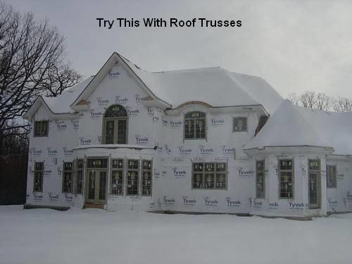 Simple modern flat roof design