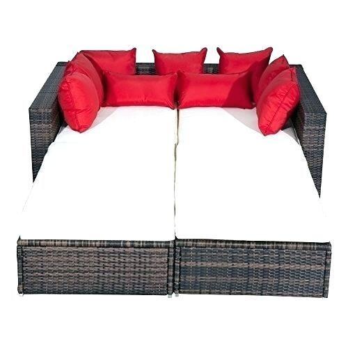 Siena Black Rattan Contemporary Outdoor Garden Furniture