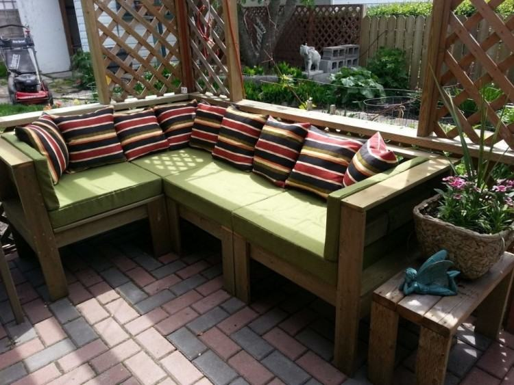build your own patio furniture a refreshing bright green kitchen plus an  inside look at the