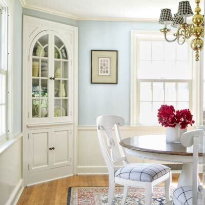 Sideboards, White Corner Hutch For Dining Room Corner Dining Room Hutch  Classic Dining Room White