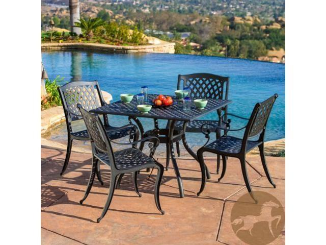 christopher knight outdoor furniture reviews christopher knight patio  furniture cast aluminum bronze 5 piece