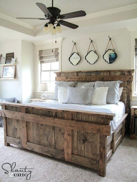 farmhouse style bedroom  furniture
