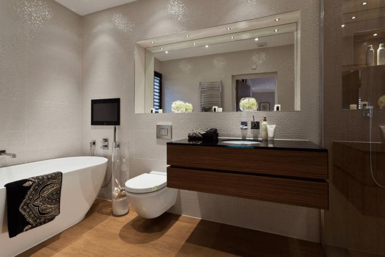 Bathroom Nice Mirrors Frameless Bath Mirror Decorative