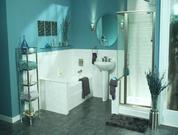 turquoise bathroom ideas teal and  grey