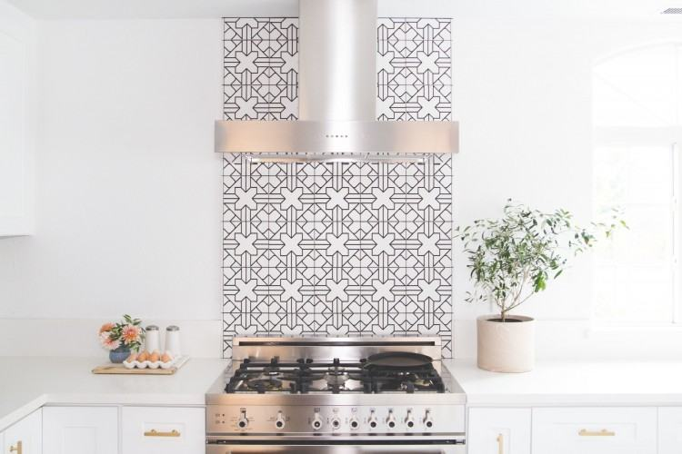 Kitchen Tile Backsplash Designs Classic Kitchen Trend With White Cabinets  Decor Ideas New At Laundry Room View In Stylized Country Kitchen Tile  Backsplash