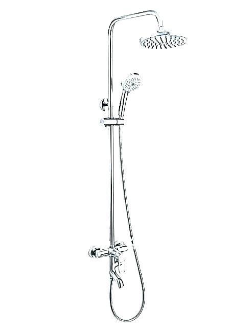 modern shower faucet