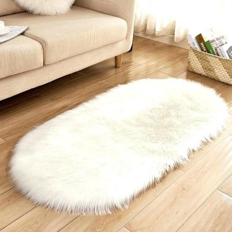 Detail Feedback Questions about Artificial Sheepskin Shaggy Fluffy Faux Fur  Decorative Flower Shape Carpet Bedroom Sofa Area Rug Solid White Red Black  Pink