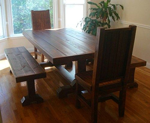 dining table with two chairs 2