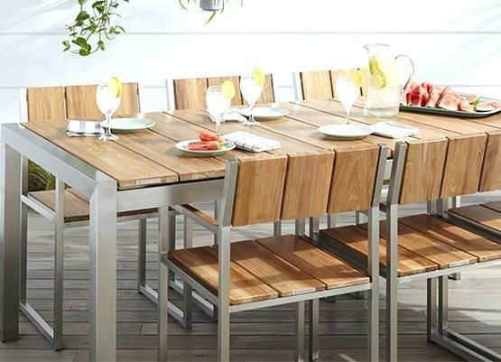 Cleaning & Sealing Outdoor Teak Furniture