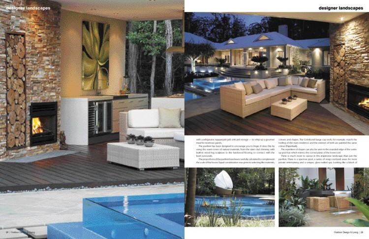 Outdoor Design and Living imagines and creates the space while highly  talented team of masons implement our concept
