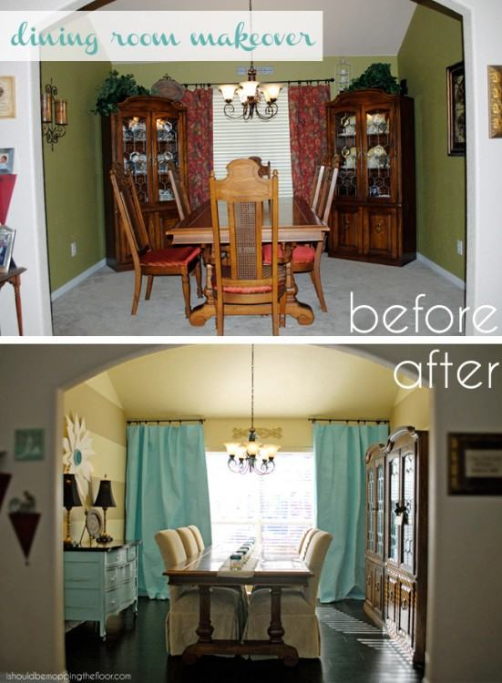 Dining Room Makeover Home Design Ideas