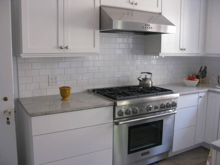 Kitchen Designs And Decoration Medium size French Kitchen Backsplash  Design White Ceramic Tile Country
