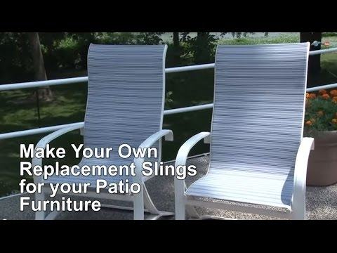 Gorgeous Replacement Slings For Patio Chairs with Deck Chair Sling  Replacement Its All Furnitures