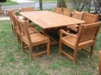 costco patio sale teak patio furniture teak lounge chairs 9 piece teak  dining set patio furniture
