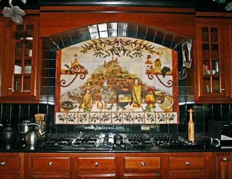 tuscan tile backsplash murals kitchen customer reviews style tuscany