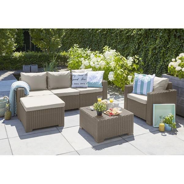 Patio Furniture Sofa Garden, Sectional Furniture Set Resort Grade Furniture