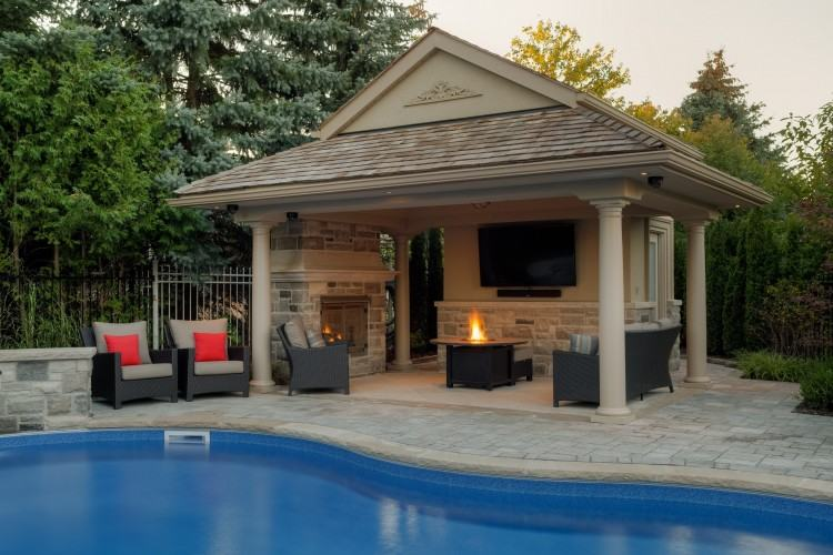 Outdoor Patio And Backyard Medium size Outdoor Patio Fireplace Design  Backyard Designs Creative Ideas
