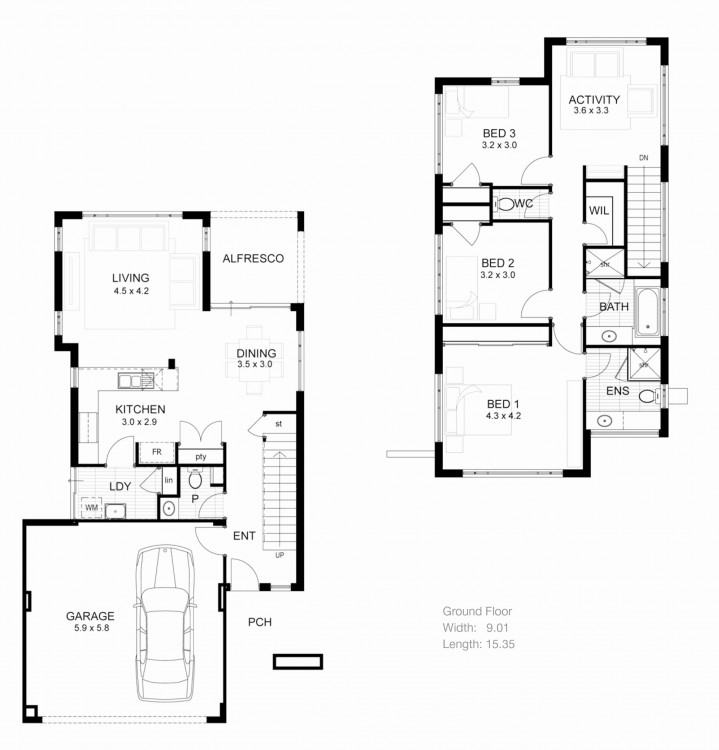 Modern House And Floor Plans Medium size Dream Home House Plans  Designer Floor Hgtv Plan Contemporary